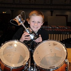 Percussion trophy winner